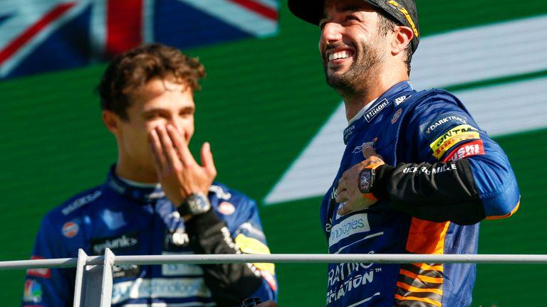 "Daniel Ricciardo ""never lost faith"" amid difficult McLaren season as Australian returns to victory"