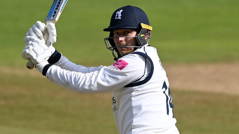 Danny Briggs' runs and wickets have given Warwickshire the edge in the County Championship title race
