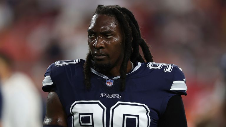 DeMarcus Lawrence faces a lengthy spell on the sidelines (AP)