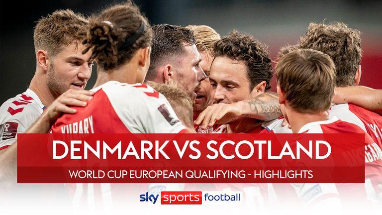 Denmark 2-0 Scotland