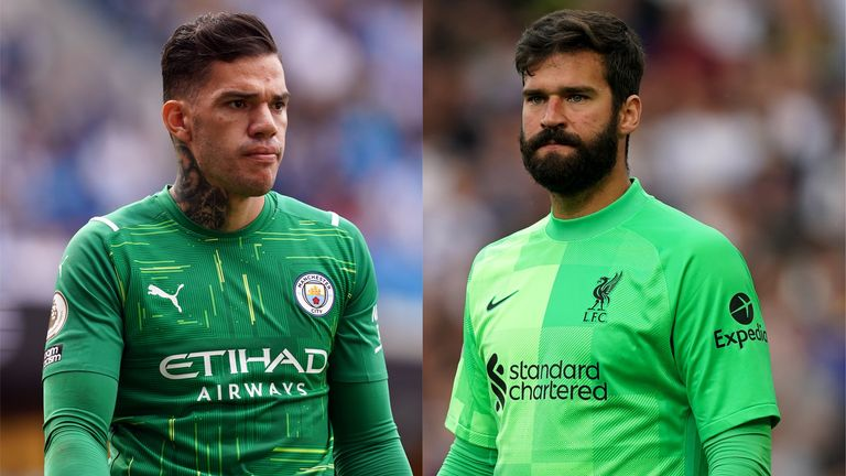 Ederson and Alisson have been called up by Brazil for October's World Cup Qualifiers (PA)