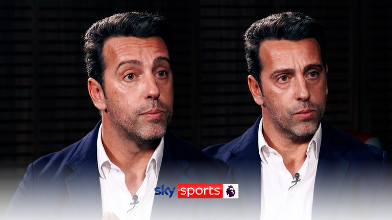 Arsenal technical director Edu spoke exclusively to Sky Sports