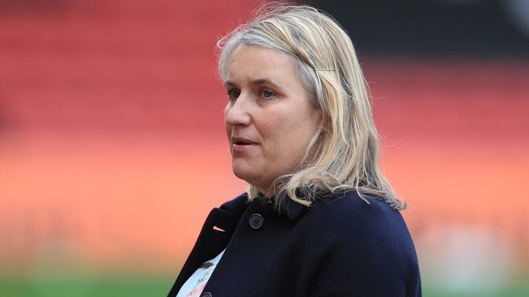 Emma Hayes, Chelsea Women manager (PA)
