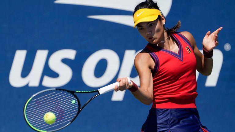 Qualification Raducanu is one win    away from matching her Wimbledon run in    July