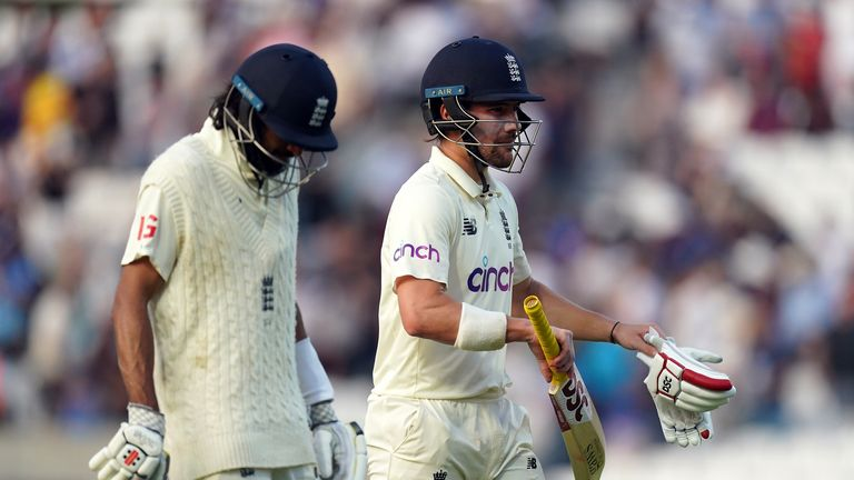 The best of the action from day four of the fourth Test between England and India from The Oval