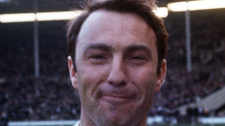 Jimmy Greaves during his England days