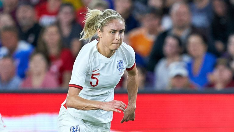 Steph Houghton has been England captain since being appointed by Mark Sampson in January 2014