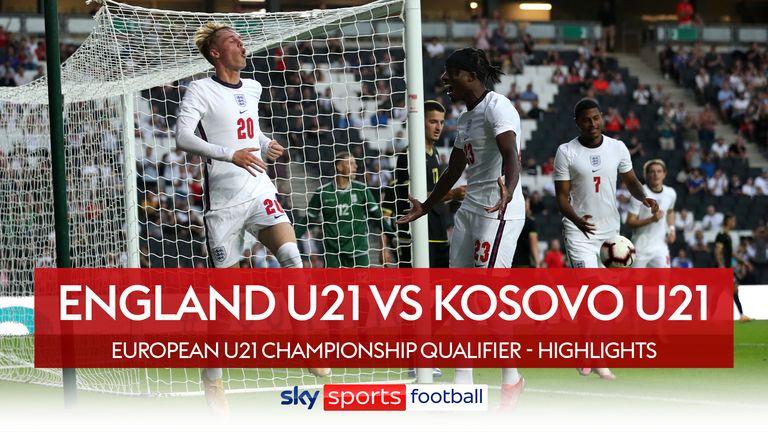 England U21s 2-0 Kosovo U21s
