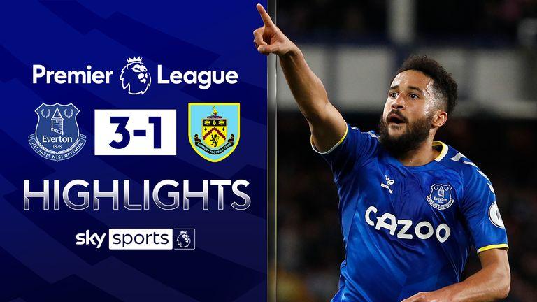 Everton v Burnley highlights
