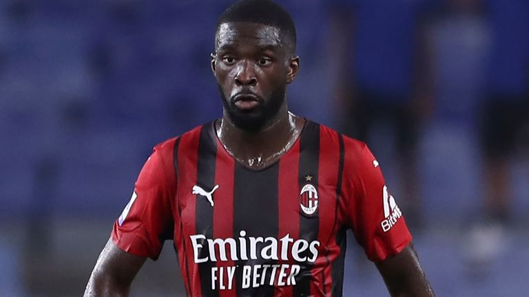 Fikayo Tomori is excited by the prospect of playing Champions League football for AC Milan this term