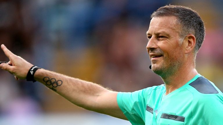 Mark Clattenburg left the Premier League to take up a role in the Saudi Arabian Football Federation in February 2017