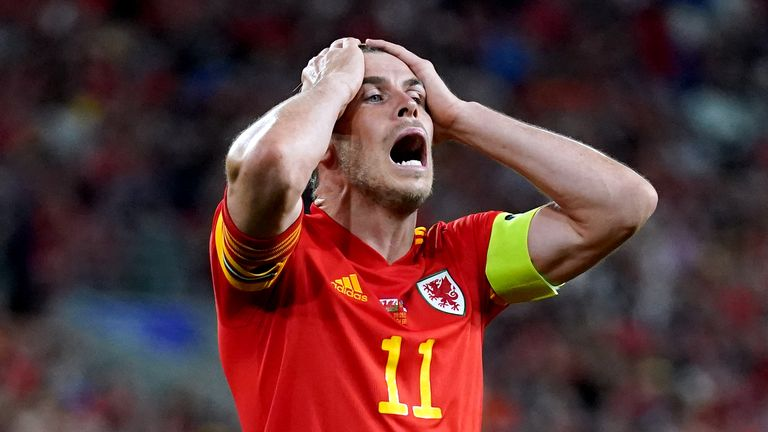 Gareth Bale went closest for Wales, heading against the woodwork when he should have scored late on