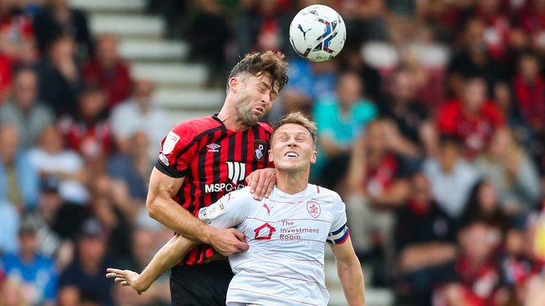 The 35-year-old made his Bournemouth debut in the 3-0 win over Barnsley on September 11.