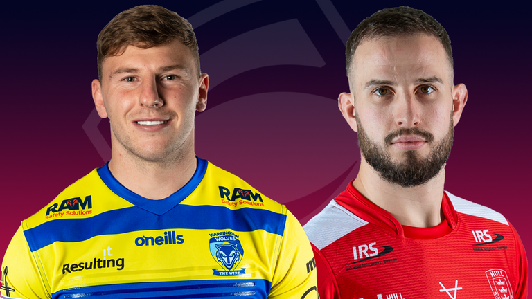 Warrington and Hull KR face off for a place in the Super League play-off semi-finals on Friday