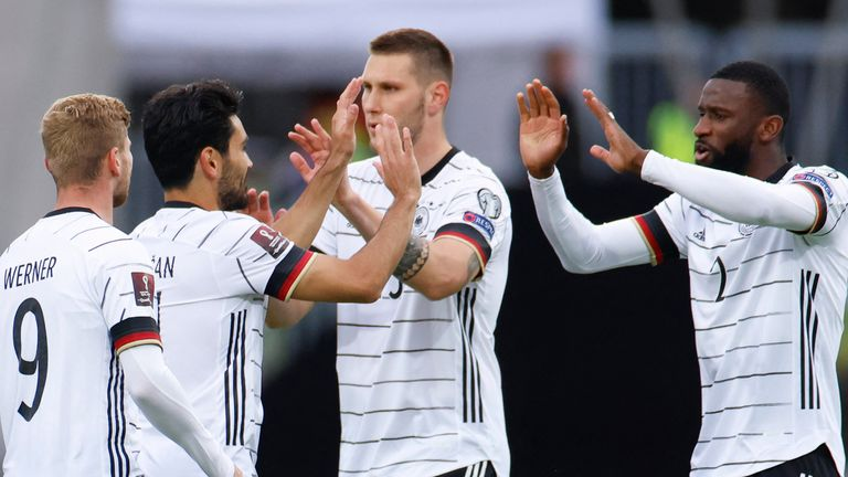 Germany were returning from a 4-0 win over Iceland