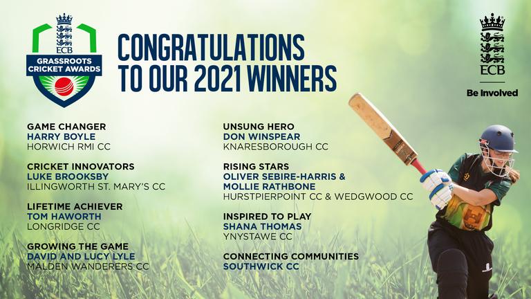 ECB Honors 20,000 Volunteers Through Grassroots Cricket Awards    Cricket News