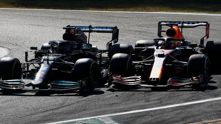Martin Brundle: Analysing Lewis Hamilton and Max Verstappen's latest clash and McLaren's triumph Martin Brundle: Analysing Lewis Hamilton and Max Verstappen's latest clash and McLaren's triumph skysports hamilton verstappen 5512254