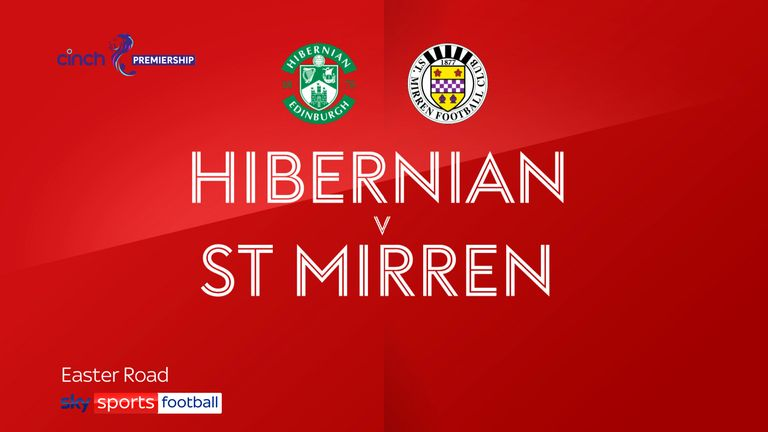 Hibernian v St Mirren