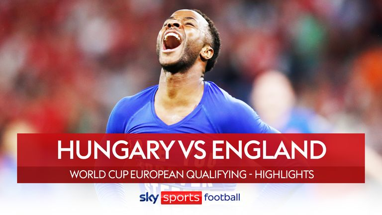 Hungary v England Highlights