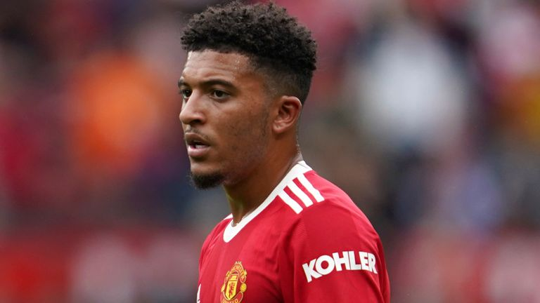 Could Jadon Sancho be available for Man Utd's clash with Newcastle?