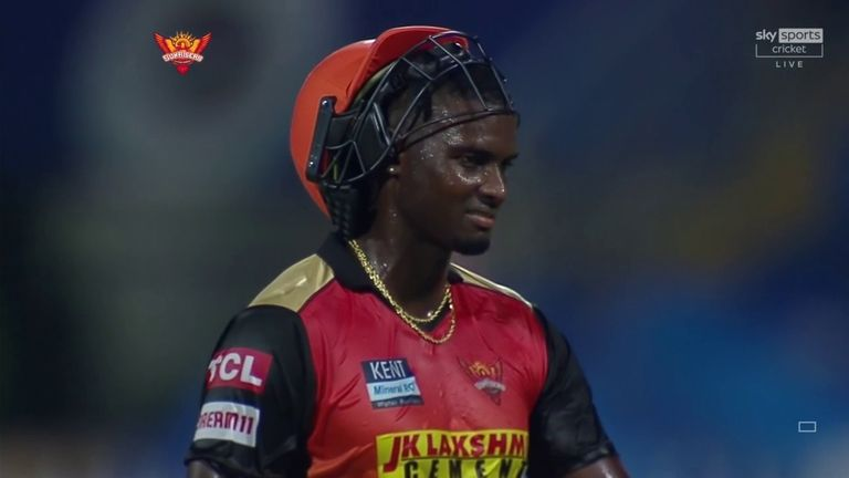 Jason Holder was brilliant with bat and ball but it was not enough for Sunrisers Hyderabad