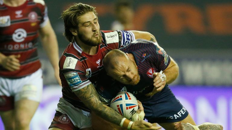 Joe Sharocos has emerged as the top tackler in the 2021 Super League