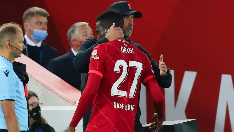 Divock Origi put in a fine performance in Liverpool's 3-2 win over AC Milan