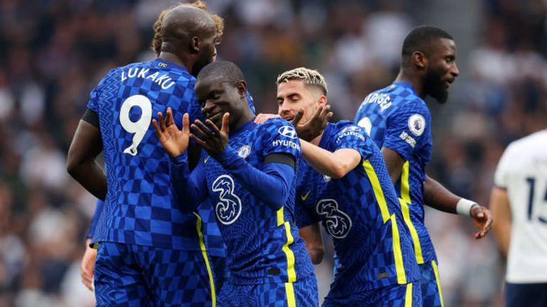 N'Golo Kante's deflected effort gave Chelsea a 2-0 lead
