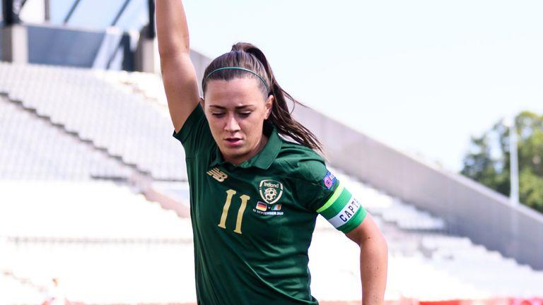 Republic of Ireland's Katie McCabe