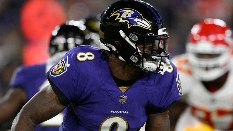 Lamar Jackson has led the Baltimore Ravens to three-straight wins after defeat in their opening game