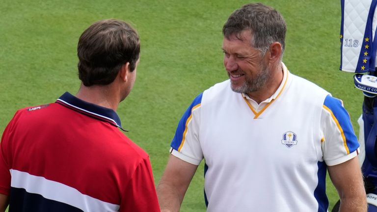 Lee Westwood beat Harris English on Sunday. Was that his last match as a player?
