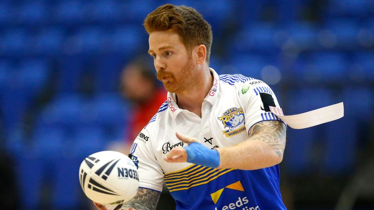 James Simpson and his Leeds team-mates face Leyland in the wheelchair Super League Grand Final, live on Sky Sports