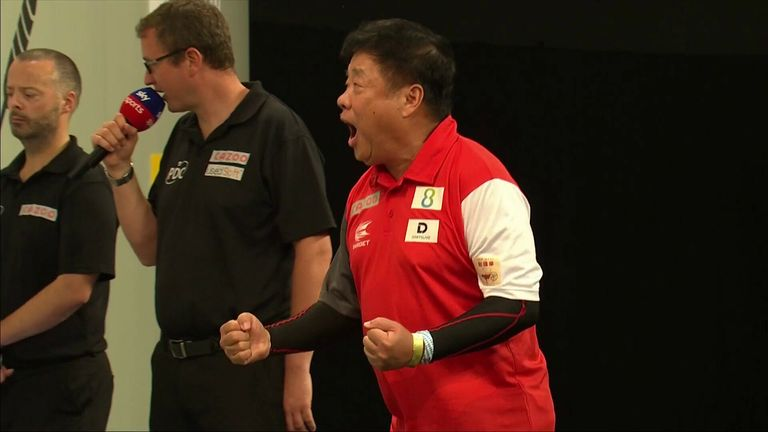 Paul & Harith Lim hit a 108 and a 116 checkout  to earn Singapore a comeback victory over Gibraltar in the World Cup of Darts.