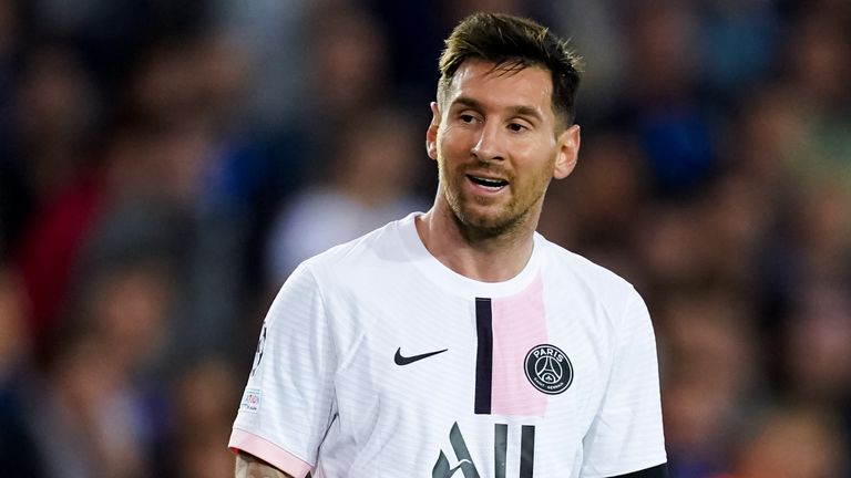 Lionel Messi could not inspire PSG to victory on his first start