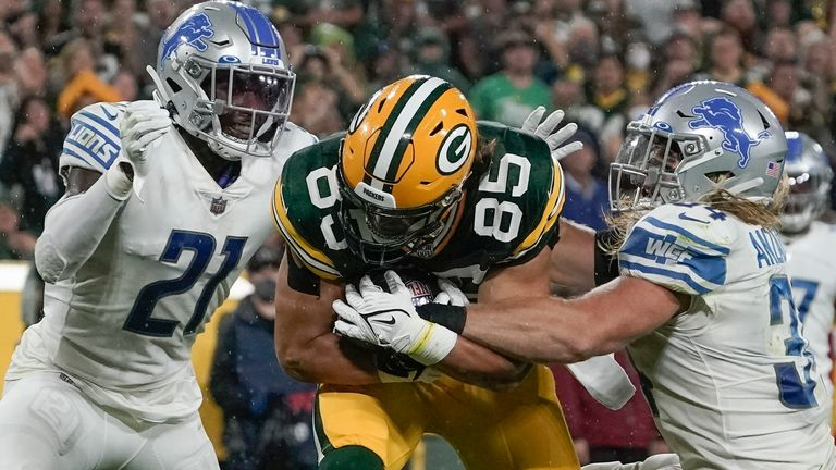 Highlights from the game between the Detroit Lions and the Green Bay Packers in Week 2 of the 2021 NFL regular season