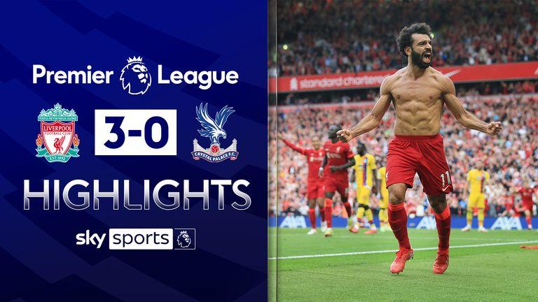 Liverpool v Palace highlights