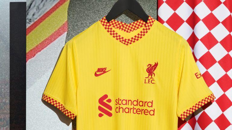 Liverpool's third kit for the 2021/22 season