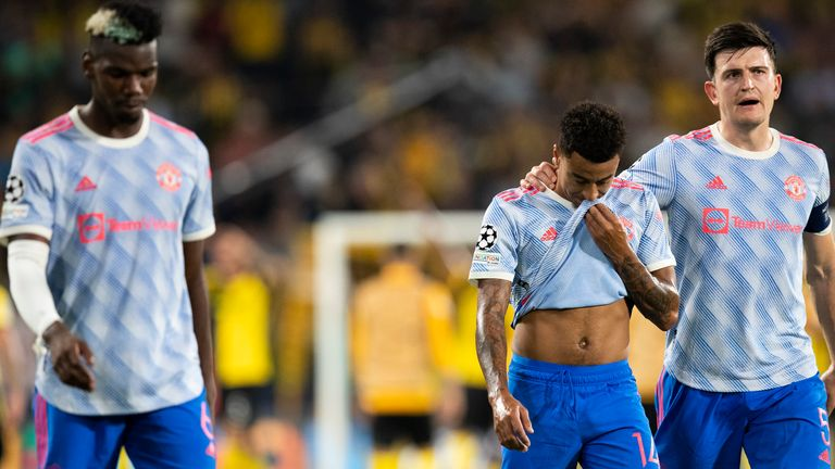 Man Utd were beaten by Young Boys with the final kick of the game