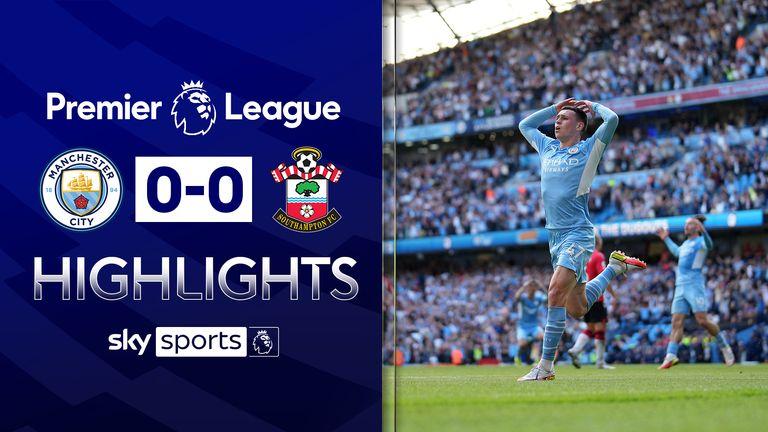 Man City v Southampton highlights