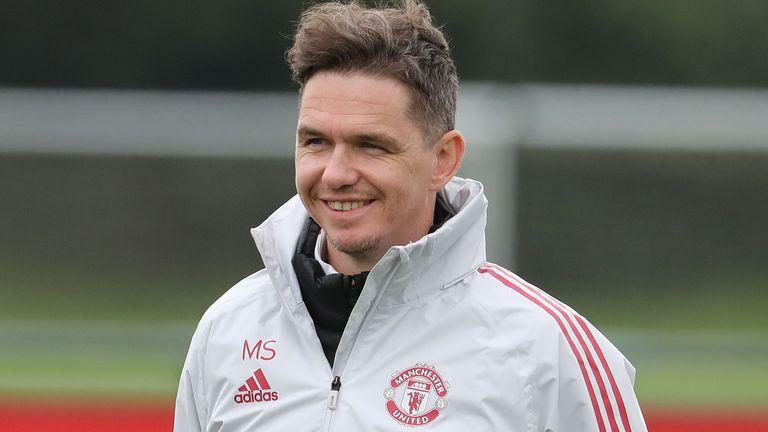 Manchester United Women head coach Marc Skinner (Getty)