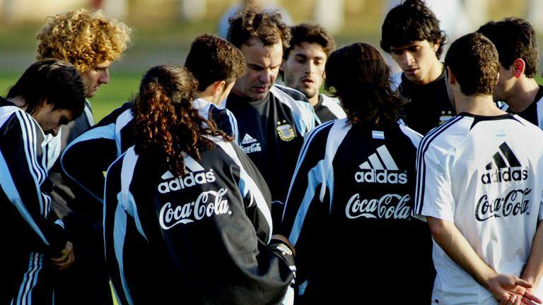 Marcelo Bielsa coached Argentina between 1998 and 2004