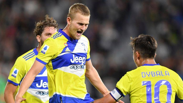 Matthijs De Ligt scored a vital winner for Juventus