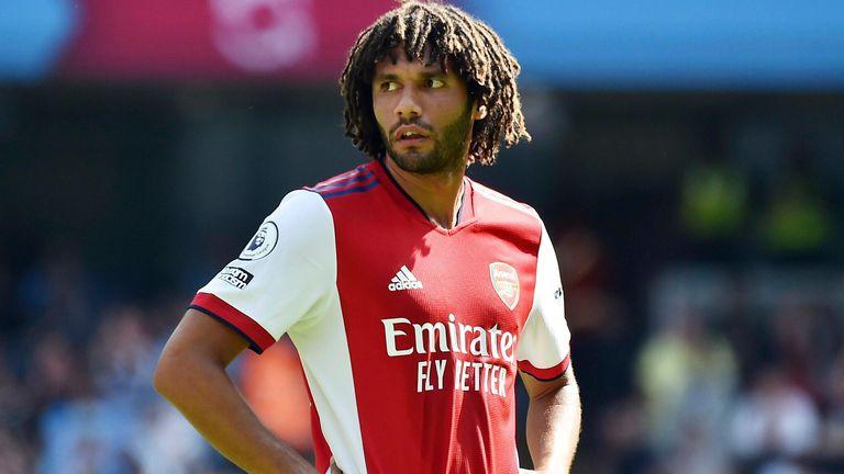 Arsenal's Mohamed Elneny