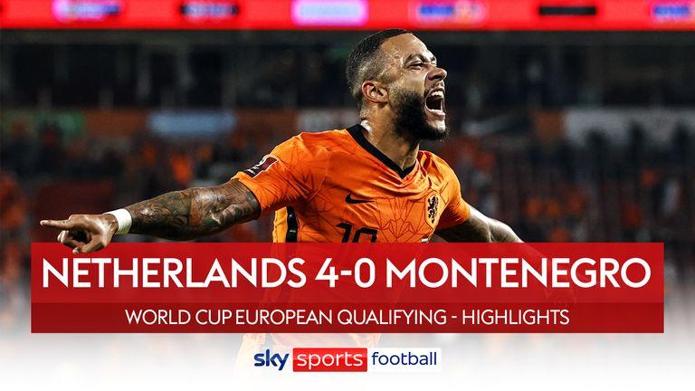 Netherlands 4-0 Montenegro