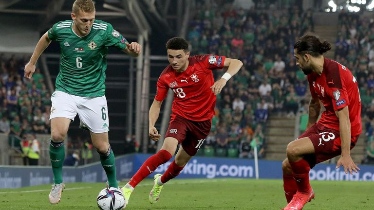 Northern Ireland missed the chance to move up to second in World Cup Qualifying Group C