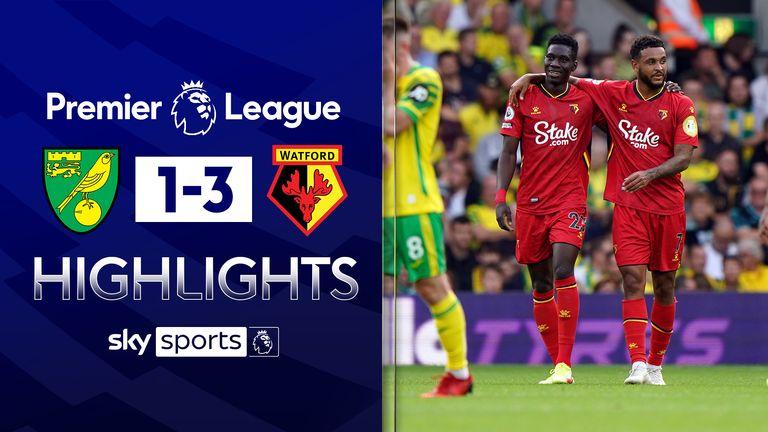 Norwich v Watford highlights
