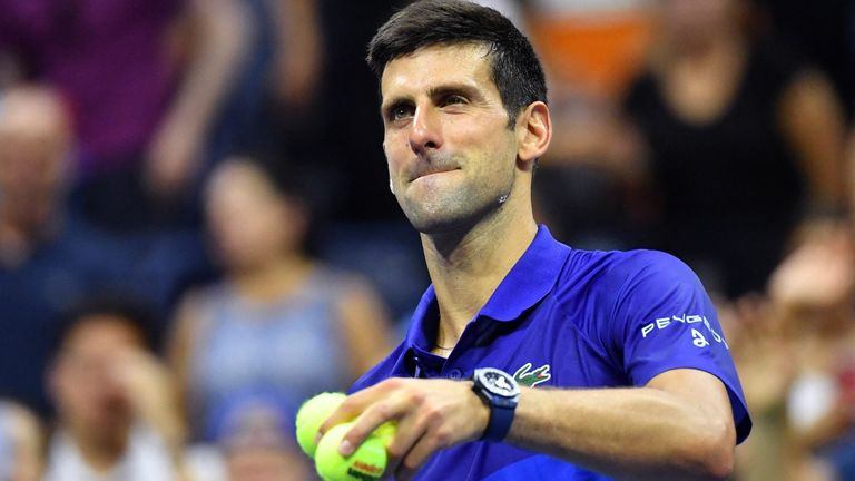 Novak Djokovic dropped a set before beating Danish teenager Holger Rune in four at the US Open