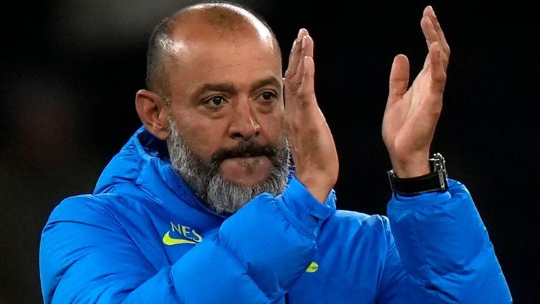 Nuno Espirito Santo led Wolves to the quarter-finals of the Europa League in the 2019-20 season