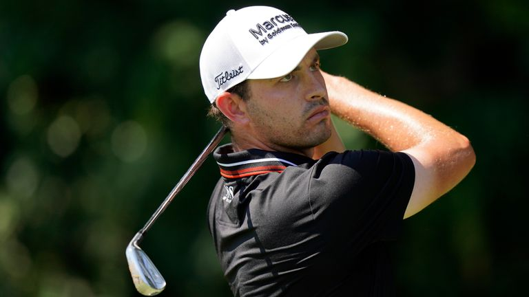 Patrick Cantlay during the third round of the Tour Championship