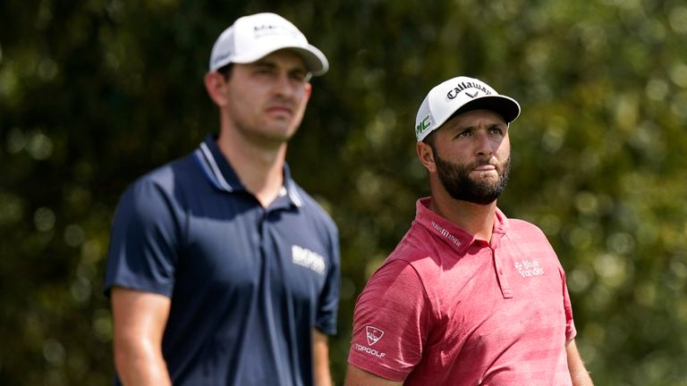 Cantlay finished ahead of Jon Rahm in the voting